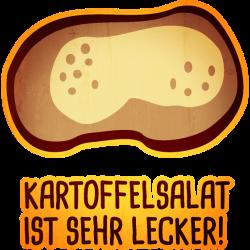 lustige Motive: Kartoffelsalat