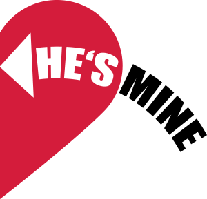 creer un t shirt saint valentin personnalis he 39 s mine love heart. Black Bedroom Furniture Sets. Home Design Ideas