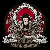 T-Shirt singe zen<br />imprimer sur un tee shirt