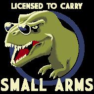T-Shirt dinosaure guerrier <br />imprimer sur un tee shirt