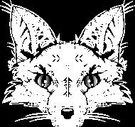 T-Shirt Une tête de renard- blanc <br />imprimer sur un tee shirt