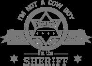 T-Shirt sheriff<br />imprimer sur un tee shirt