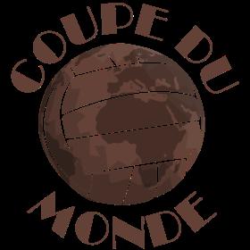 Fußball Lederball Coupe du Monde auf dein T-Shirt
