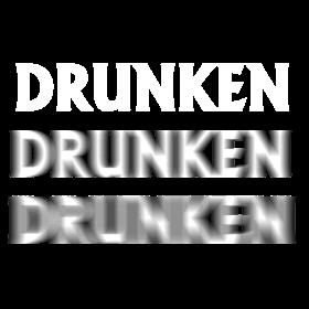 Drunken verschwommen auf dein T-Shirt