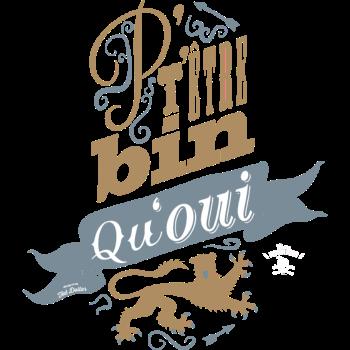 T-Shirt p t etre bin qu oui<br />imprimer sur un tee shirt