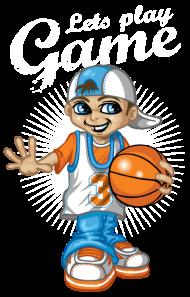T-Shirt Basketball enfant<br />imprimer sur un tee shirt