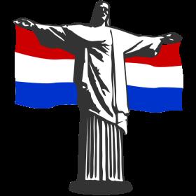 Niederlande Holland Jesus in Rio auf dein T-Shirt