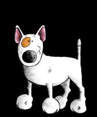 T-Shirt Bull Terrier<br />imprimer sur un tee shirt