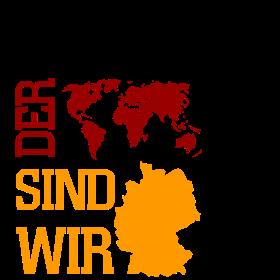 Die Nummer 1 der Welt sind wir Deutschland auf dein T-Shirt
