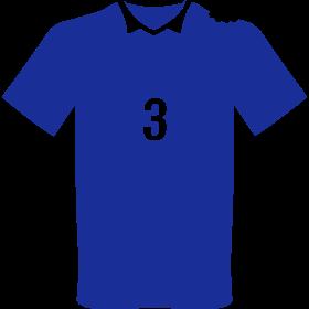 Trikot Biss in Schulter auf dein T-Shirt