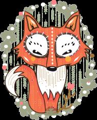 T-Shirt un petit renard dans la forêt<br />imprimer sur un tee shirt