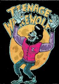 T-Shirt wolf teenage ado<br />imprimer sur un tee shirt