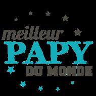 T-Shirt meilleur papy du monde<br />imprimer sur un tee shirt