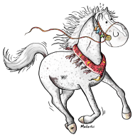 T-Shirt cheval arabe<br />imprimer sur un tee shirt