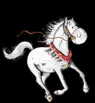 T-Shirt arabian horse fougeux<br />imprimer sur un tee shirt