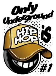 T-Shirt Underground hip hop<br />imprimer sur un tee shirt