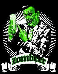 T-Shirt Zombie beer biere<br />imprimer sur un tee shirt