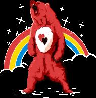 T-Shirt Rainbow bear<br />imprimer sur un tee shirt