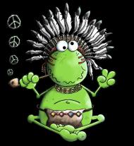 T-Shirt Peace Frog<br />imprimer sur un tee shirt