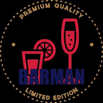 T-Shirt Barman<br />imprimer sur un tee shirt