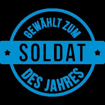 T-Shirt Gewählt Zum Soldat des Jahres<br />imprimer sur un tee shirt
