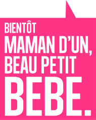 T-Shirt Bientot maman d un beau bebe<br />imprimer sur un tee shirt