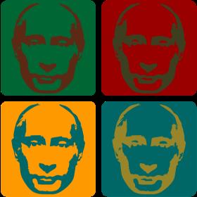 Putin Warhol auf dein T-Shirt