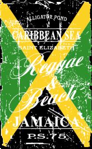 T-Shirt Jamaica Flag <br />imprimer sur un tee shirt