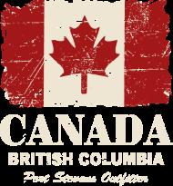 T-Shirt drapeau Canada Vintage Look<br />imprimer sur un tee shirt