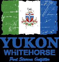 T-Shirt Yukon Flag Canada<br />imprimer sur un tee shirt