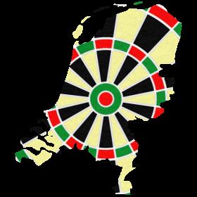 Niederlande Dartscheibe auf dein T-Shirt