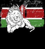 T-Shirt Lion Safari Kenya Wildlife<br />imprimer sur un tee shirt