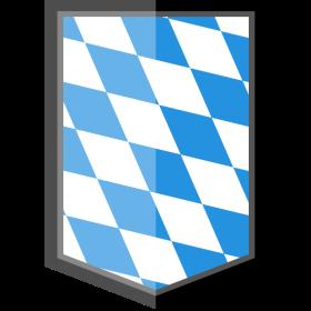 Bayern Wappen Karomuster E-Style auf dein T-Shirt