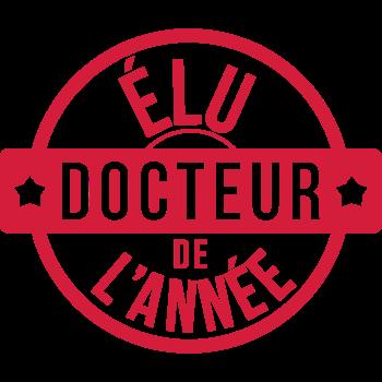 T-Shirt elu docteur de l annee<br />imprimer sur un tee shirt