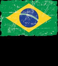 T-Shirt Brazil Vintage Flag<br />imprimer sur un tee shirt