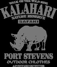 T-Shirt Rhino Kalahari<br />imprimer sur un tee shirt