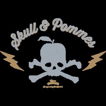 T-Shirt skull pomme<br />imprimer sur un tee shirt
