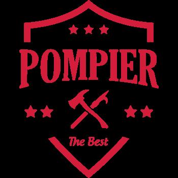 T-Shirt logo blason pompier<br />imprimer sur un tee shirt
