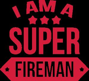 creer un t shirt metier personnalis i am a super fireman pompier feuerwehrmann. Black Bedroom Furniture Sets. Home Design Ideas