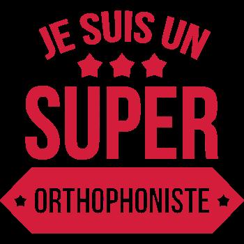 T-Shirt Orthophoniste Orthophonie Docteur Médecin<br />imprimer sur un tee shirt