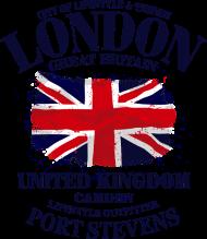 T-Shirt London Union Jack Vintage drapeau<br />imprimer sur un tee shirt