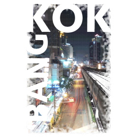 Bangkok Skytrain auf dein T-Shirt