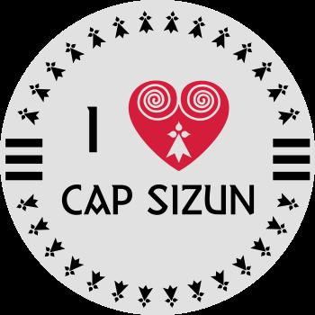 T-Shirt i love cap sizun<br />imprimer sur un tee shirt