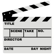 clapperboard (writable flex)