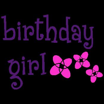 T-Shirt Birthday Girl<br />imprimer sur un tee shirt