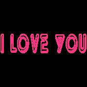 Motif Personnalisé I Love You 5