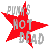 Punks Not Dead (Retro) - franciscoevans.com
