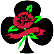 rose clover ace tattoo idea