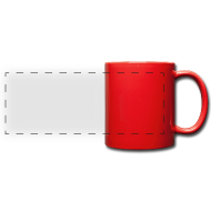 Tasse panoramique en couleur