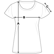 Tee shirt Bio Femme mesures